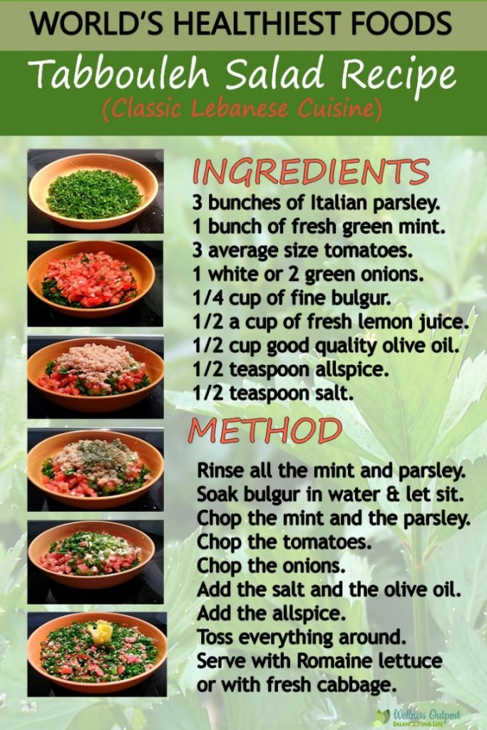 Tabbouleh Recipe Pin