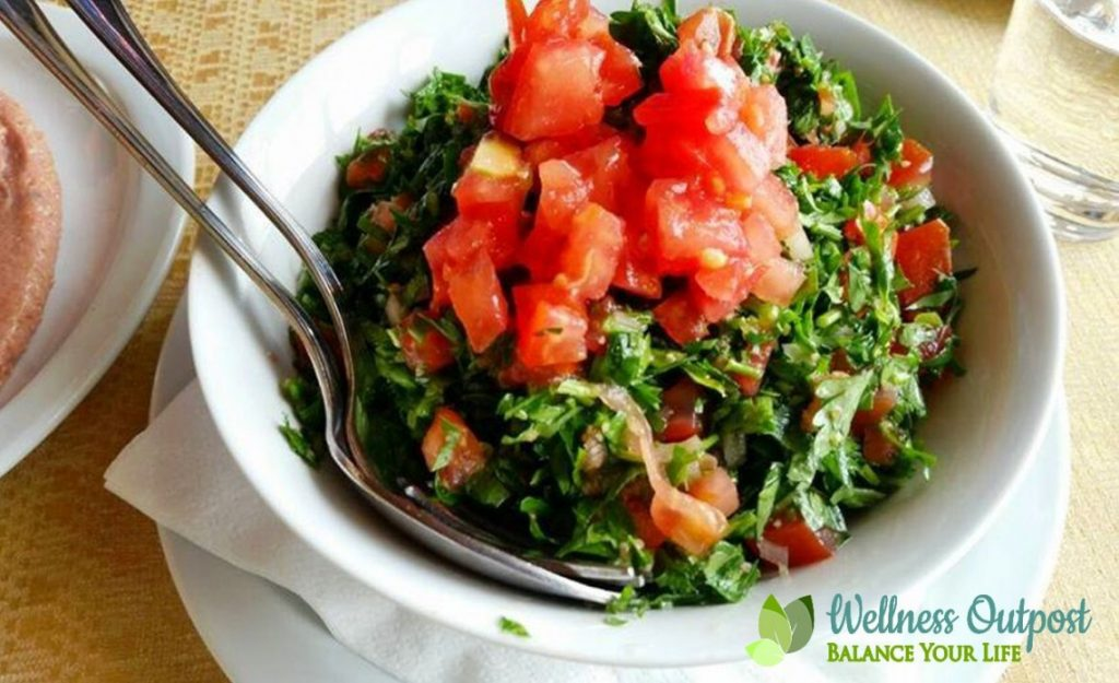 Tabbouleh parsley salad