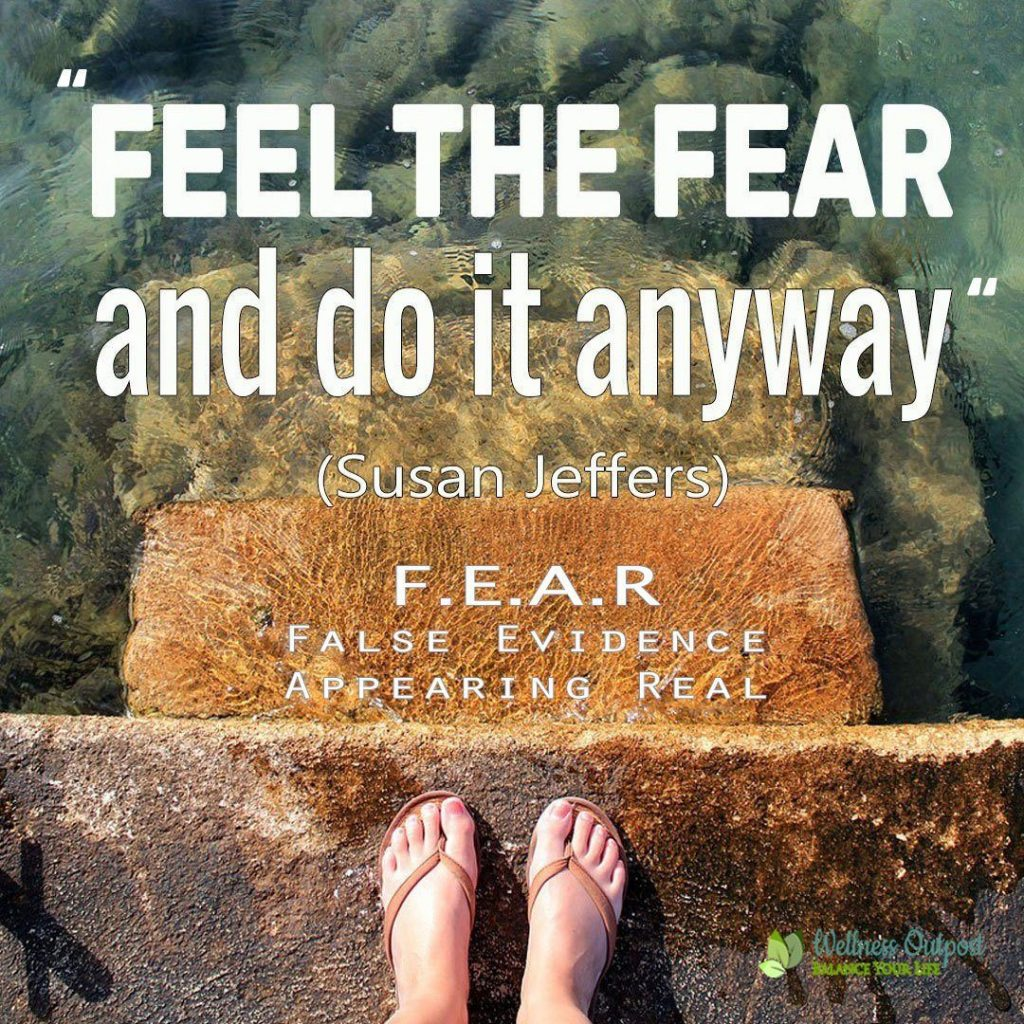 Susan Jeffers quote feel the fear and do it anyway