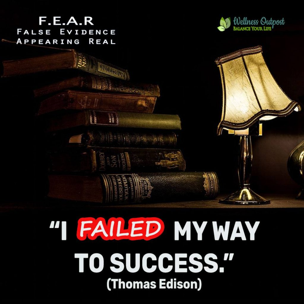 Thomas Edison Quote I-failed-my-way-to-success Instagram